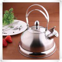 Kettle stainless steel whistling 3.1l ring kettle water bottle feeper pot water bottle