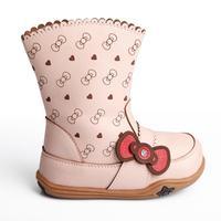 girls  children boots 2013 winter princess sweet high-leg  snow boots bow