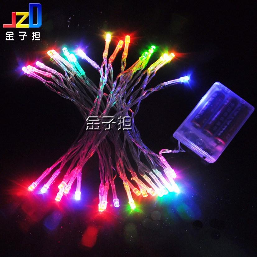 String Lights Voltage : Led battery lighting string christmas lights battery box lantern wedding car decoration low ...