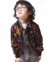2013   male  child fashion british style  coat    free shipping