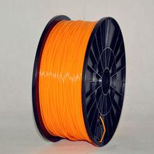 3D Printer PLA Filament  3.00mm 1kg(2.2lb) Makerbot/Reprap/Mendel/UP,3d printer consumables ,transparent  orange