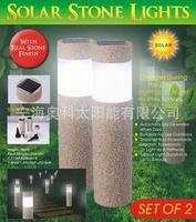 Sandblast solar cannon barrel lamp solar garden lamp auk5022c