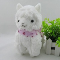 Japan Amuse Arpakasso Alpacasso white Alpaca Plush Doll girl lovely