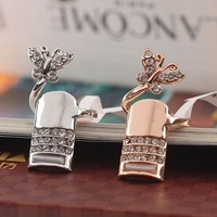 jewelry fashion hot-selling the trend of fashion sparkling butterfly finger ring