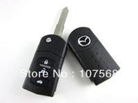 MAZDA RX-8 RX-7 3 6 323 626 3 BUTTON REMOTE ALARM KEY UNCUT BLADE case Cover shell