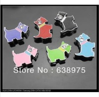100pcs 8mm Dog Slide Charms Fit Pet Dog Cat Tag Collar Wristband