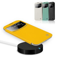 For samsung   s4 wireless charge holsteins phone case set i9500 wireless charger cover holsteins