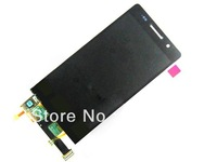 For Huawei Ascend P6 LCD digitizer assembly full screen complete screen Black  colour