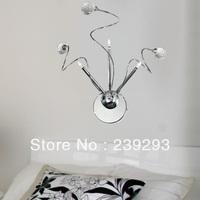 Free Shipping 110-240V Low Voltage Indoor Bedside Modern Crystal Wall Light 3 Lights G4 Bulbs Included Crystal Light For Bedside