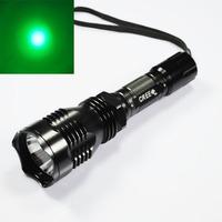 UniqueFire HS-802 Cree Green light Long range Led Flashlight