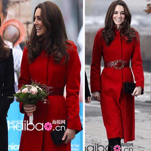 Red Coat Women Photo Album - Reikian