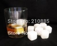 9pcs/set,Whisky stones,whiskey stone  with velvet bag whiskey rock stone Great gift