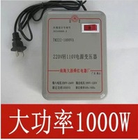Red 110 220 1000w transformer voltage converter 1000 tile