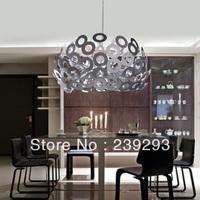 Free Shipping 110-240V D60CM Modern Pendant Lighting Bedroom Light Parlour Light For Home From China Lighting Factory Sales