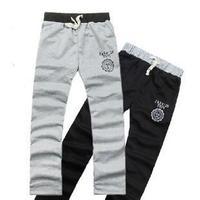 18 slim men's clothing health pants male trousers male casual pants trousers sports pants sports trousers male