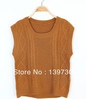 Vest sweater waistcoat female