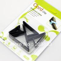 Wire Cord Clip Adhesive Cable Holder Organizer w/4 Sz