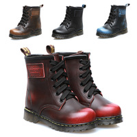 Free Shipping  child boots 2014 genuine leather children shoes child boots martin boots  child snow boots