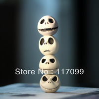 Christmas gifts Jack skull model decoration,4pices/set,free shipping