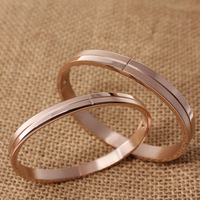 Hot selling !! 2013 New Fashion Classic Bracelets Bangles, High quality ,14 k rose gold bracelet for women free shipping
