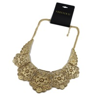 Min.order is $15 (mix order) Fashion  cutout necklace female short design necklace  false collar jewelry eq