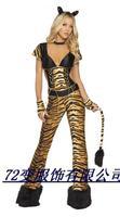 Tiger animal leopard print clothes halloween costume lion