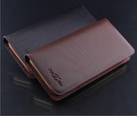 2014 new Genuine leather men wallets brand designer purse fashion credit card bags man clutch pocket