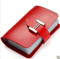 Wholesale TOP Fashion New Designer men/women Leather more screens card package Convenient to carry for business  Hot Selling