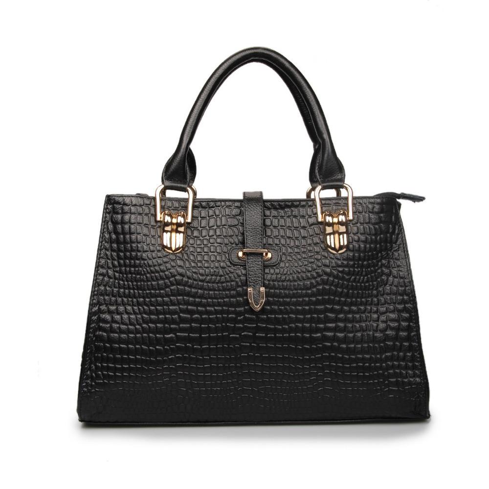 Free Shipping Fashion Vintage Leather Handbag Women Famous Brands