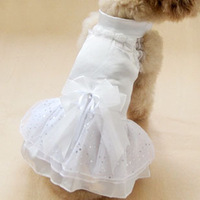 Pet dog clothes princess one-piece dress dog formal dress wedding services teddy poodle clothes