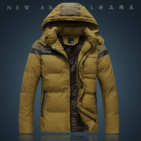 Jeanswest 2013 men's autumn and winter clothing dull Men thickening down coat outerwear