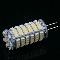 2 x G4 5W 580-Lumen 102 SMD 3528 LED Light Warm White / White Bulb Lamp DC 12V