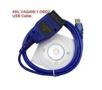 short lead time VAG 409 USB COM, vag 409.1 usb kkl interface , vag409 usb cable