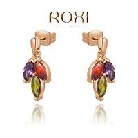 ROXI fashion new arrival,Delicate Color grain earrings,China's wind,women trendy earrings Chrismas /Birthday gift
