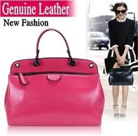 Genuine leather women handbags korea edition oil wax cow genuine leather bags women messenger bag women leather handbags women