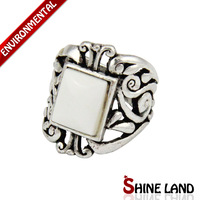 Free Shipping Min Order $10(Mix Order) 2013 Wholesale Ethnic Antique Silver Plated Hollow Out Adjustable Statement Rings Jewelry
