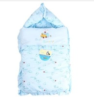 100% cotton newborn anti tipi baby holds blankets comforter baby sleeping bag zipper autumn and winter