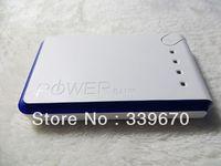 13000mAh External Battery Charger 18650 power bank Christmas gift UPS free shipping 50pcs/lot