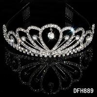 MIN.ORDER $15,wedding bride hearwear crown 11004
