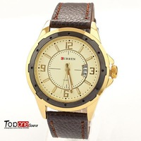 Original Best Selling Product 2013 Mens Luxury Famous Brand Watches leather Strap Watches Quartz Free Shipping