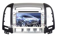 "Free shipping!! 7"" android4.0, 2 din 3G wifi Car DVD GPS special for HYUNDAI SANTA FE 2006-2012"