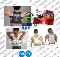 Black Back Support Brace Belt Waist shoulder  Posture Support for Mens And Womens