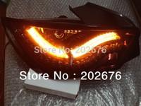 FREE SHIPPING , CHA 2008-2012 3 DOORS  LED AUTO TAIL LAMP/REAR LIGHT ASSEMBLY, FULL LED, COMPATIBLE CARS: IBIZA 6J 3D