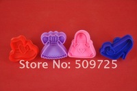 New 3D Cookie Cutter Cookie Stamp Bakeware Cake Decoration Tools Cake Mold 9059#