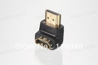 500pcs /lots Wholesale HDMI Male to Female Adapter 1.4V ,Free shipping by Fedex