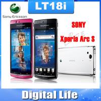 Oiginal Sony Ericsson Xperia Arc S LT18i  Android GPS WIFI 8MP Unlocked Mobile Phone