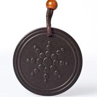 W-1 Wholesale lava stone scalar energy pendant