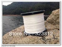 Free shipping wholesale 1500yds white 8LB---------100LB braided fishing line dyneema