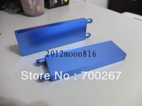 2pcs Aluminum Water Cooling Block for CPU Graphics Radiator Heatsink free shipping