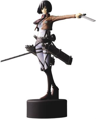 "Japanese Anime Attack On Titan Mikasa Ackerman 4.5"" / 11 cm PVC Figure(China (Mainland))"